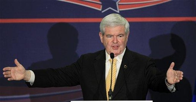 Can Gingrich come back again?
