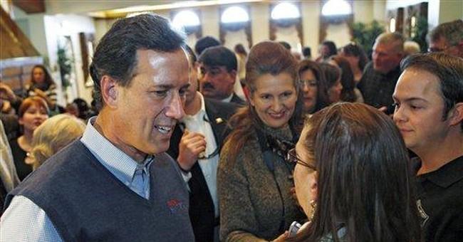 Santorum daughter hospitalized in Va., not Philly