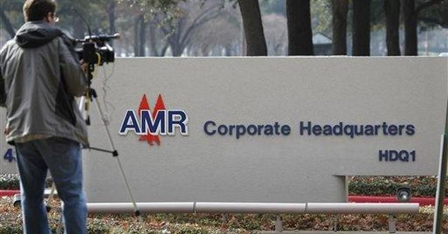 AMR lost $904 million in December