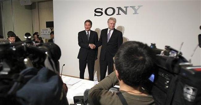 Hit by yen, Thai floods, Sony sees wider net loss