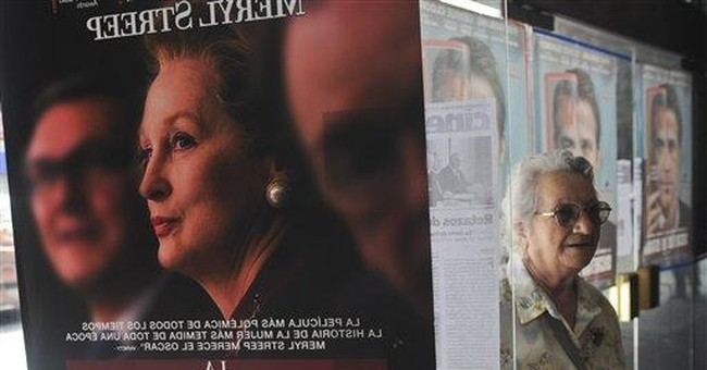 Thatcher movie opens in Argentina to tough reviews