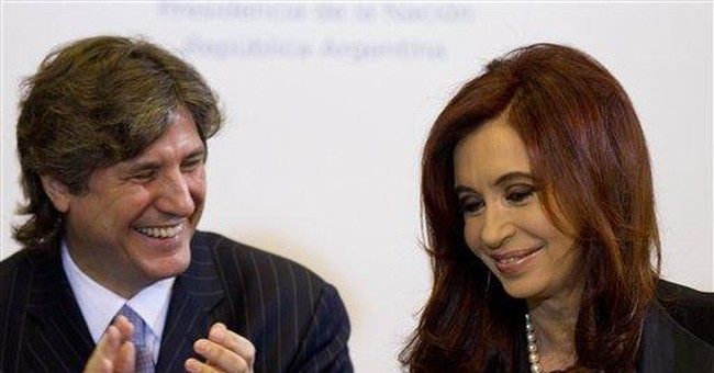 Argentine VP says president needs more time