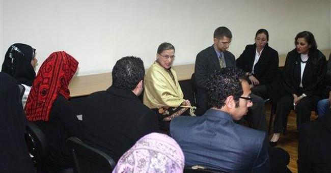 Justice Ginsburg visits mark Arab Spring uprisings