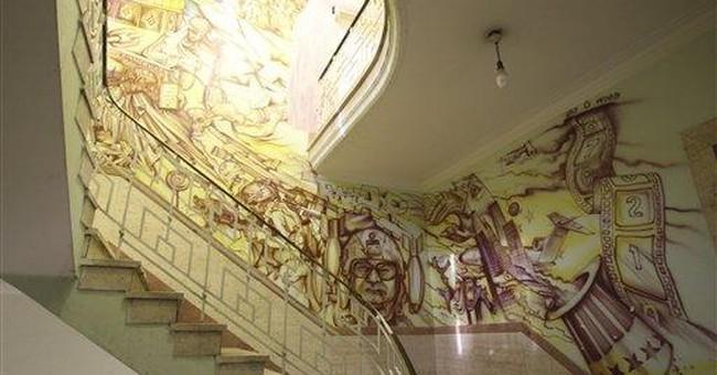 Revolutionary art: Iran murals gallery of defiance
