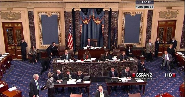 A frail Dole returns to Senate to push for treaty