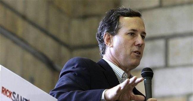 Santorum pushes discredited stroke claim