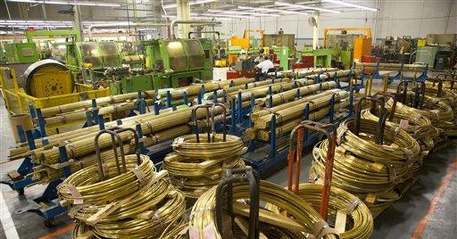 Factory orders up 1.1 percent in December