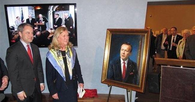 Stevens portrait unveiled at Alaska state museum