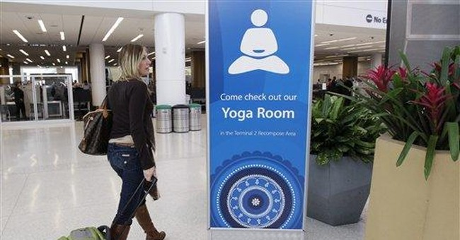 Namaste, travelers! SFO opens airport yoga room