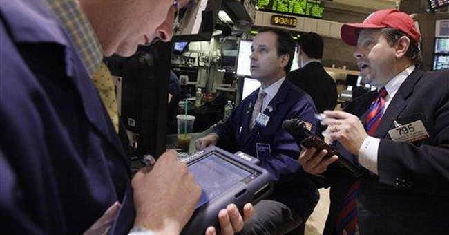 Jobs report lifts Dow to highest mark since '08