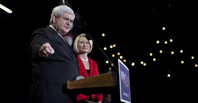 Romney, Gingrich expect Romney to win Nev. Vote