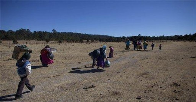 Mexican aid lags for starving Tarahumara Indians