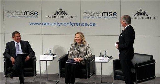 Clinton: US, Europe must do more against tyrants
