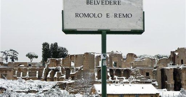 Rome struggles with more snow; govt shovels issued