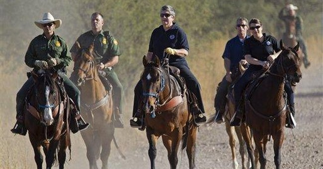 AP Analysis: Border Patrol OT up as arrests drop