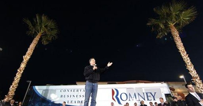 Romney using Nev. as springboard for Feb. contests