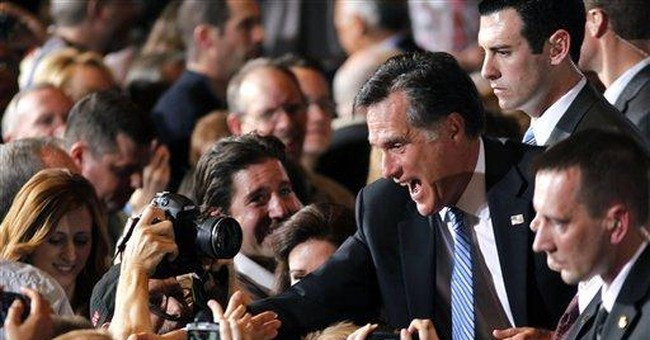 For now at least, Romney campaign cruising