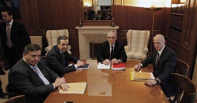 Greek crisis talks for debt deal pushed to Monday