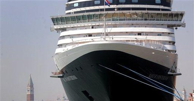 Venice rebels against cruise ship intrusions