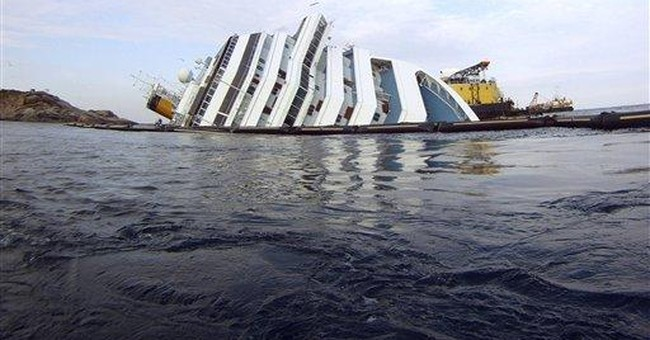 Undersea prep resumes for ship's oil removal