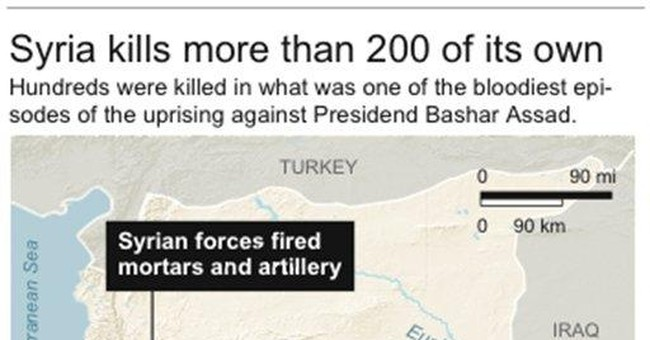 Protesters attack 7 Syrian embassies around world