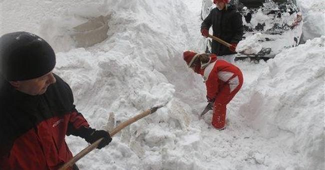 Snow traps thousands in Bosnian villages
