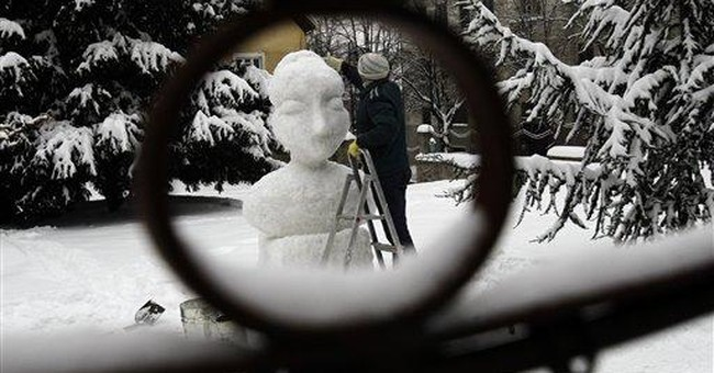 Europeans struggle under record cold snap