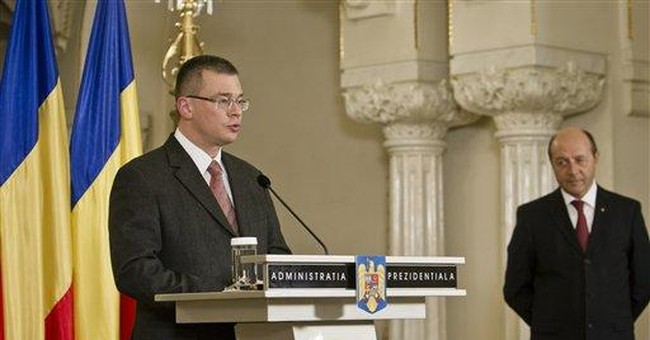 New Romanian PM holds talks to form new govt