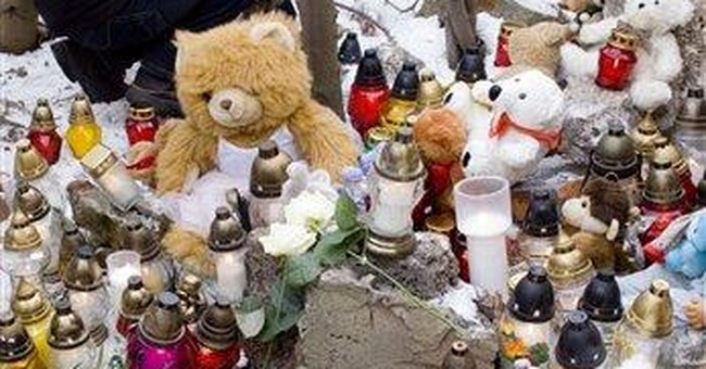 Poles mourn baby mother claimed had been kidnapped