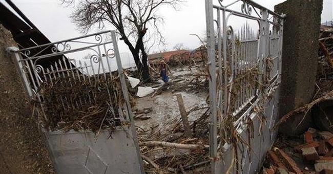 Dam bursts in Bulgaria, 8 killed in floods