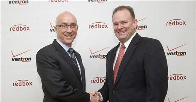 Verizon to set up streaming service with Redbox