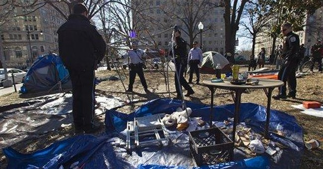 2nd wave of evictions is sweeping away Occupiers
