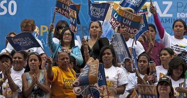 Chavez foe convinced of winning opposition primary
