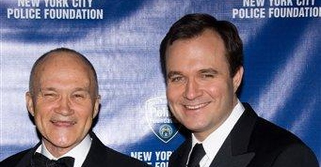 NYPD boss' son, not charged, returns to TV Friday
