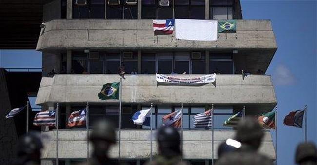 Disgruntled police in Brazil threatening Carnival