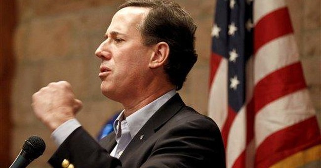 Santorum wins in 3 states as Romney stalls
