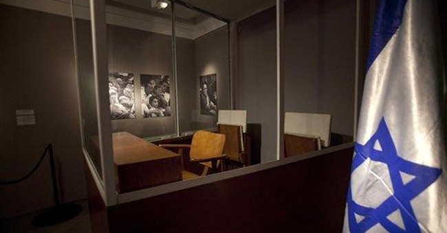 Eichmann exhibit gives glimpse of Israel's Mossad