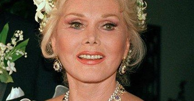 Zsa Zsa kept behind closed doors at birthday party