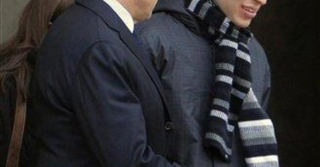 Sarkozy meets Israeli soldier held hostage 5 years