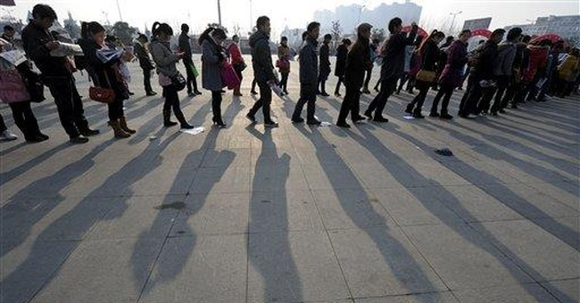 Chinese leaders promise pay hikes, more jobs