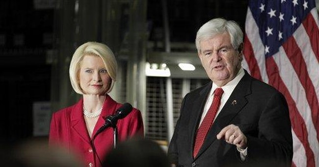 Gingrich warns darkly of Iran nuclear possibility
