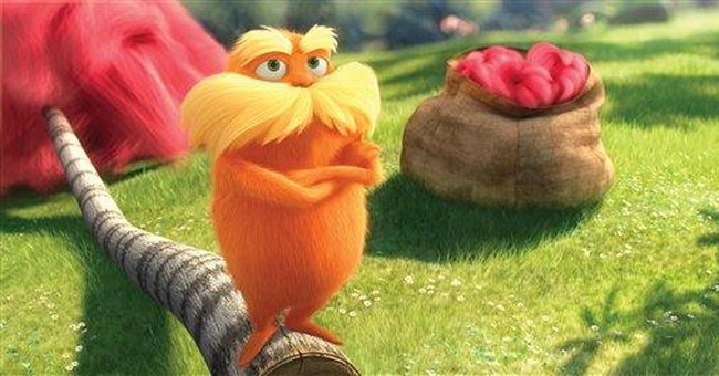 Forget fast food toys: 'Lorax' gets green tie-ins