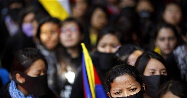 Exile prime minister decries Chinese rule in Tibet