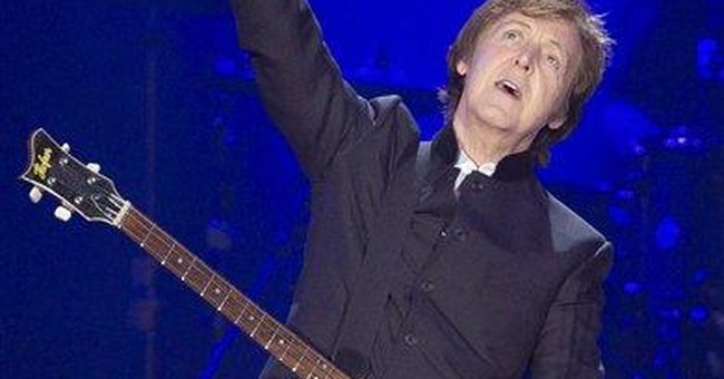 McCartney to debut new songs live on iTunes stream