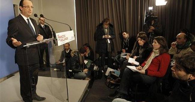 Sarkozy, chief challenger to meet at Jewish gala