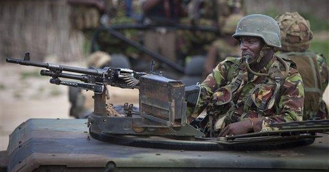 Kenya military reports battle with Somali fighters