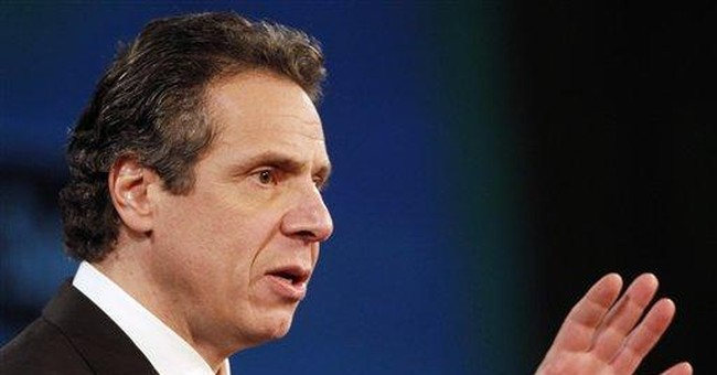 NY Gov. Cuomo  sets state on course for 2nd year