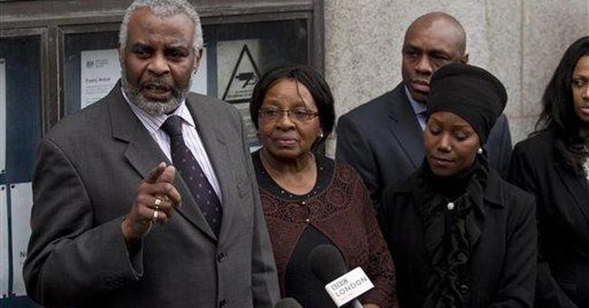 2 UK white men sentenced for killing black teen