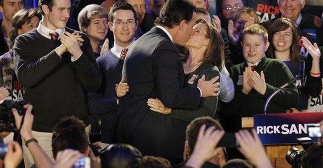 Santorum declares 'game on' after Iowa surge