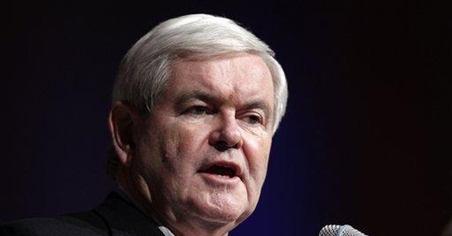 Gingrich says GOP campaign is not a game